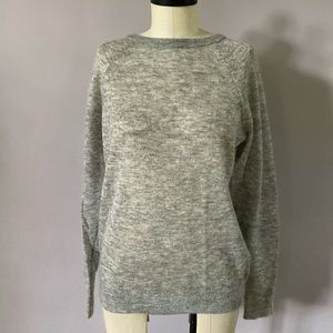 Michael Kors soft wool sheer sweater size Small